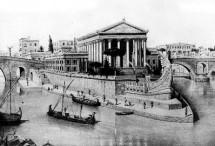 …Tiberi jõel on legendiderohke saar