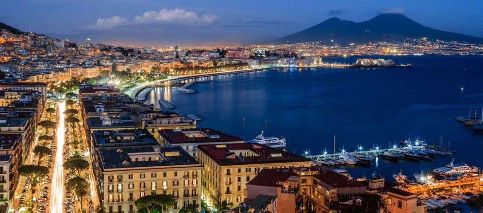 Napoli ja Ischia saar.