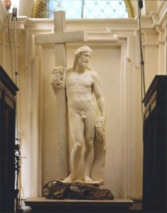 Kristus Ristil San Vicenzo klooster 1514