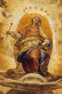 Apokalüpsise Naine Paolina kabelis