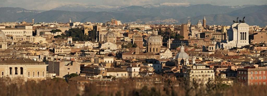 Panoraamvaade Gianicololt