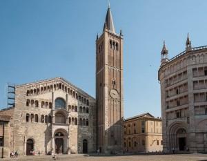 Parma kattedraal ja ristimiskabel