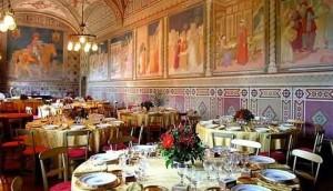 Malaspina castelli lõunasöök